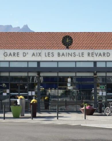 taxi gare Aix les Bains Savoie